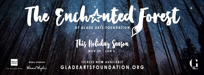 The Enchanted Forest at Glade Arts Foundation