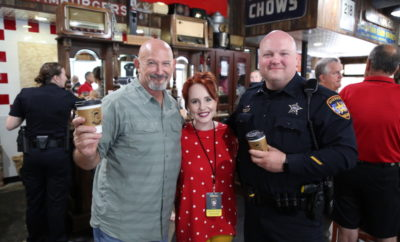 Deputies from the Montgomery County Sheriff's Office and community members came together to discuss local issues, build relationships, and drink coffee on Wednesday, October 3, 2018 from 7:00 am-9:00 am at the Dosey Doe Breakfast & BBQ located at 2626 Research Forest Drive in The Woodlands, TX.  Coffee with a Cop provided a unique opportunity for community members to ask questions and learn more about the Sheriff's Office work in the community.