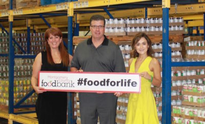 H-E-B's Help End Hunger campaign raises $20,000 for the Montgomery County Food Bank.