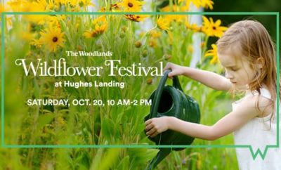 The Howard Hughes Corporation will host its 31st annual  The Woodlands®  Wildflower Festival Art Contest on Saturday, October 20 from 10 a.m. to 2 p.m. at Hughes Landing® on Lake Woodlands. The Woodlands Township is a participating sponsor.