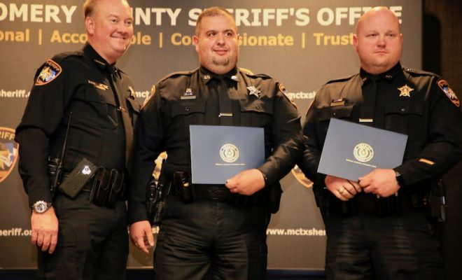 Montgomery County Sheriff's Office Promotion and Awards