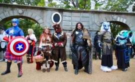 On November 10 and 11, the mightiest heroes and heroines and the darkest villains and vixens gathered at the Texas Renaissance Festival for Heroes and Villains Weekend.