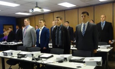 Sheriff's Office Welcomes Newest Basic Police Officer Academy Cadets
