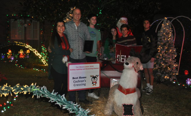 Cochran's Crossing Announces Holiday Lighting Competition Winner | Hello  Woodlands - Cochran's Crossing Announces Holiday Lighting Competition Winner