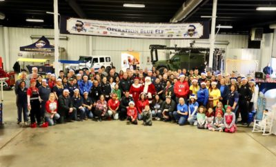 "On Friday, December 21, 2018, the Montgomery County Sheriff's Office along with the Montgomery County Sheriff's Citizens Academy Alumni Association and numerous community partners celebrated the Second Annual Christmas Toy Drive ""Operation Blue Elf"" at the Montgomery County Fair Grounds located at 9333 Airport Road in Conroe, Texas."