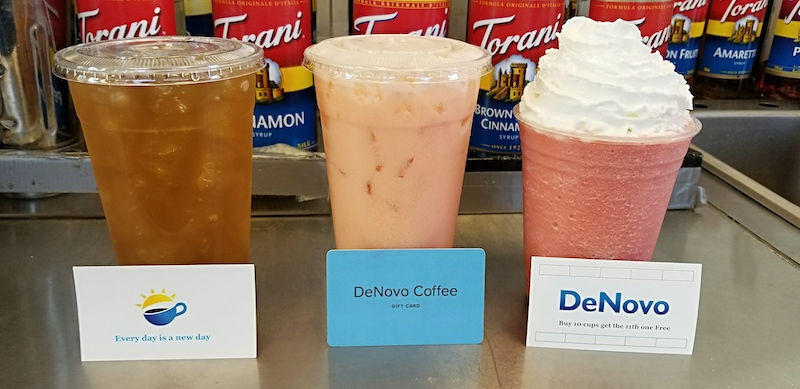 DeNovo Coffee. Photo by Nick Rama