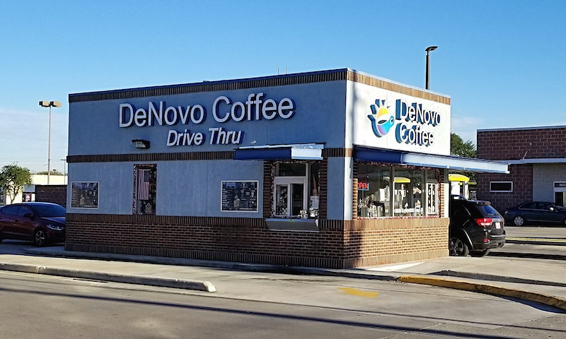 DeNovo Coffee. Photo by Nick Rama