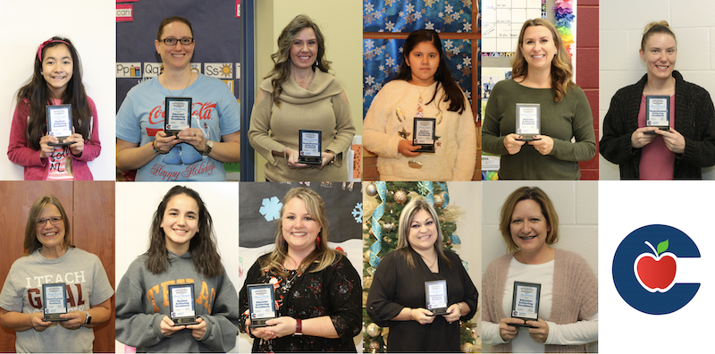 CISD Honors Students and Employees with Ambassador Awards