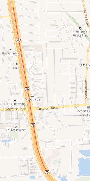 I-45 closure at Rayford | Precinct 3 Commissioner James Noack