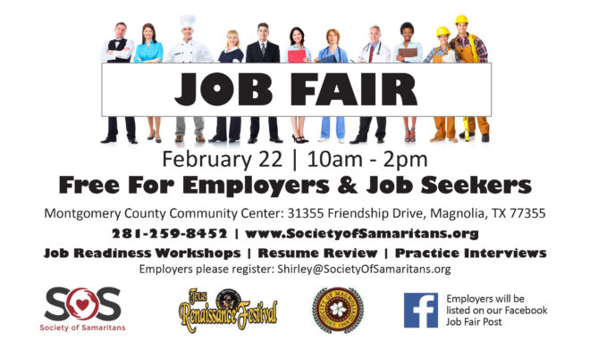 Society of Samaritans to Host Job Fair February 22 | Hello