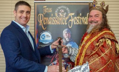 Texas Renaissance Festival Announces New CEO Joseph Bailey Takes the Helm of the Nation's Largest Renaissance Theme Park