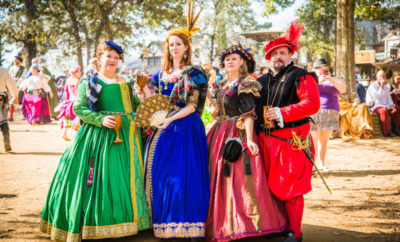 The Texas Renaissance Festival announces the new nine themed weekends for its 45th season, beginning Saturday, October 5and running through Sunday, December 1, 2019.