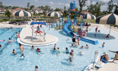 Season passes for The Woodlands Township pools are now available and valid for entry into all 14 pools including the Rob Fleming Aquatic Center.