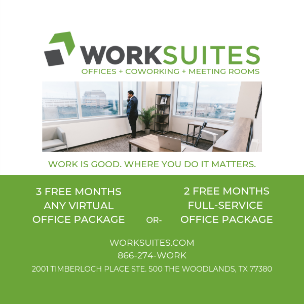 Hello Woodlands WORKSUITES