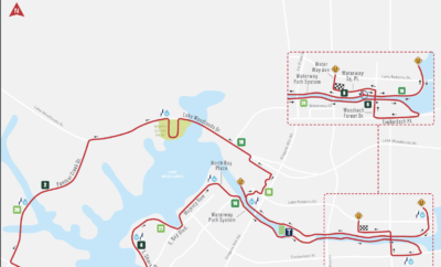 2019 IRONMAN Course The Woodlands
