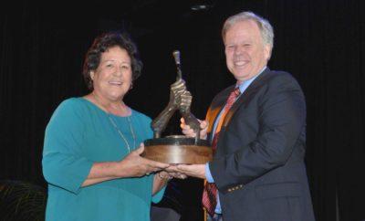 Nancy Lopez 2019 Dave Marr Award