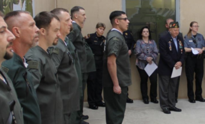 On May 1, 2019, The Montgomery County Sheriff's Office celebrated the second anniversary of the V.E.T.S. Program. V.E.T.S (Veterans Embracing the Tools for Success), is a program designed to provide Veterans incarcerated in the Montgomery County Jail with valuable resources in one central location.