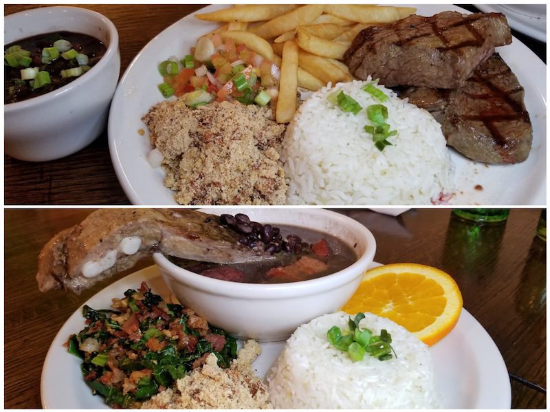 Pichana Plate and Feijoada, photo by Nick Rama
