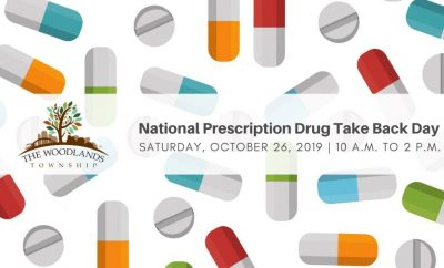 The Woodlands Township‎Prescription Drug Take Back Day at Town Hall