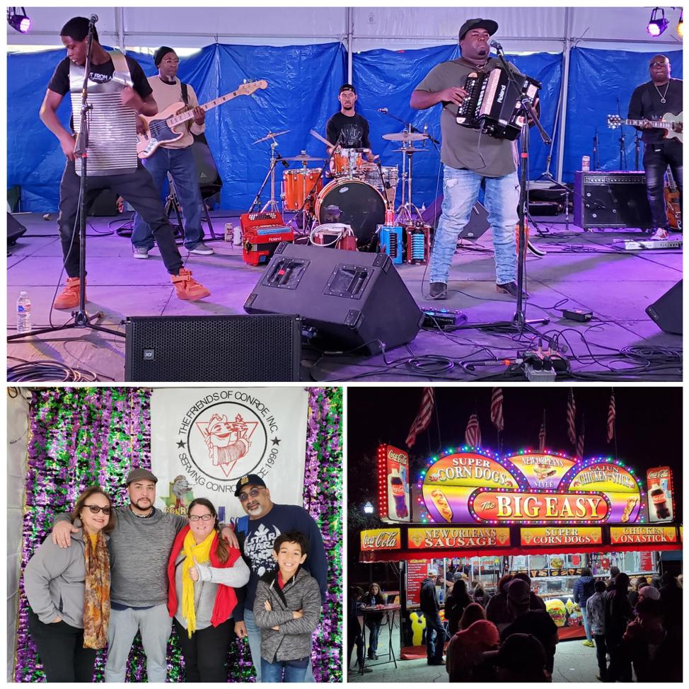 Keyun & The Zydeco Masters / Photo Booth Patricia Hudson, Elias Ishida, Metta Archilla, Nick Rama, Zac Rama / Carnival food stand photos by Nick Rama