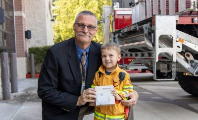 Spring, TX – Representatives from the Insurance Council of Texas (ICT) donated hundreds of smoke alarms to three local first responder agencies on October 3, 2019.