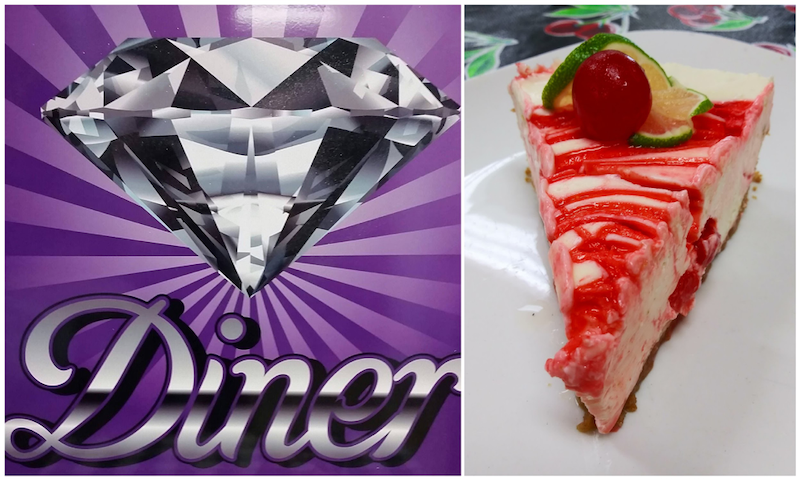 Hidden Gem Diner - Cherry Limeade Cheesecake photo by Angelica Sammons