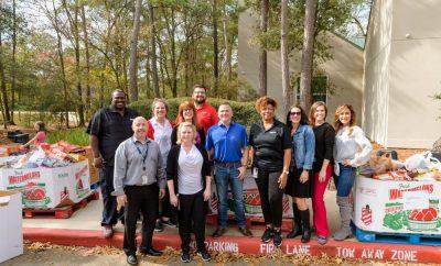 MCFB Montgomery County Food Bank Holiday Food Drive 2019
