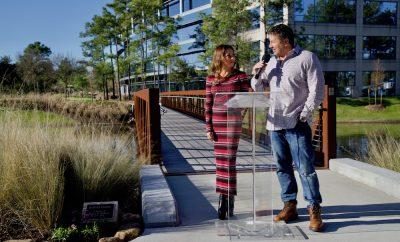 Lake Front North Bridge Dedication Ceremony 2020