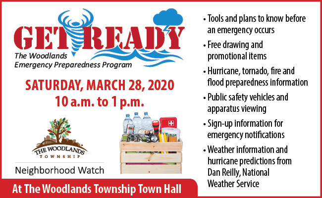 The Woodlands Township Emergency Preparedness Event
