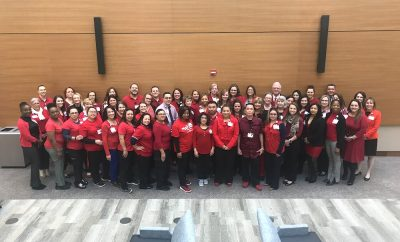 Houston Methodist The Woodlands Hospital Go Red Day 2020