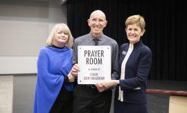 The Woodlands Christian Academy Prayer Room