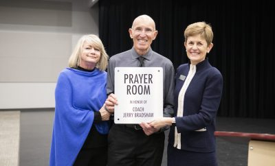 The Woodlands Christian Academy Prayer Room