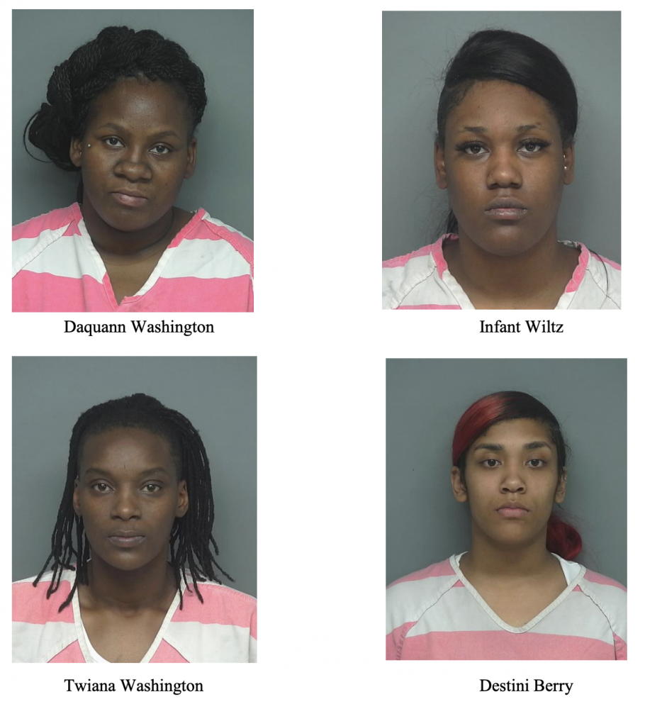 Sheriff arrests Four Females for Organized Crime