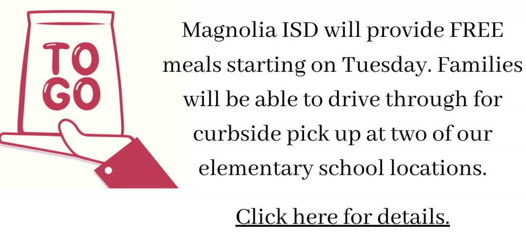 magnolia isd free student meal