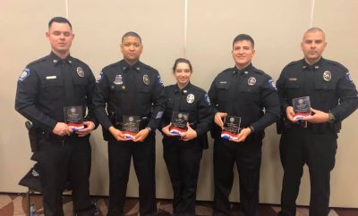 Conroe PD Houston Livestock Rodeo First Responders of the Year 2020