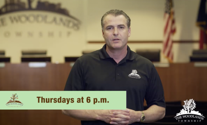 The Woodlands Township Meeting COVID-19