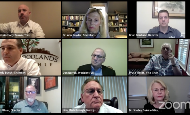 The Woodlands Township Board Meeting April 2 2020