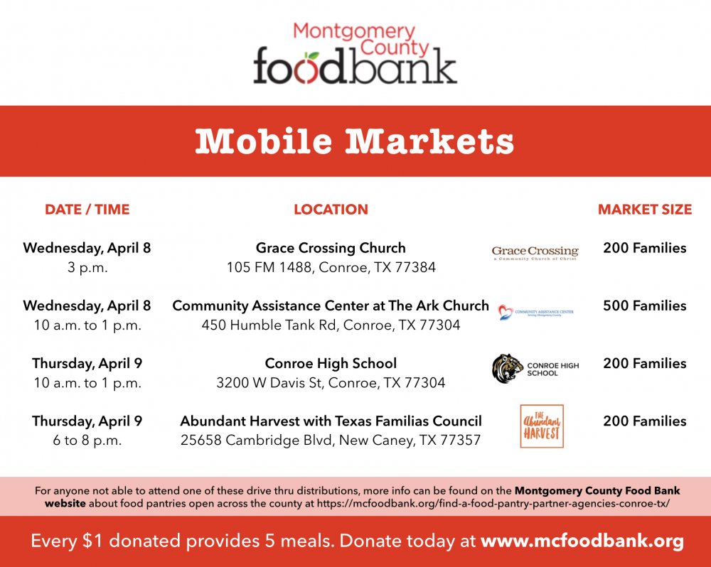 Montgomery County Food Bank Mobile Markets