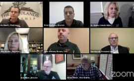 The Woodlands Township Board of Directors Videoconference April 9