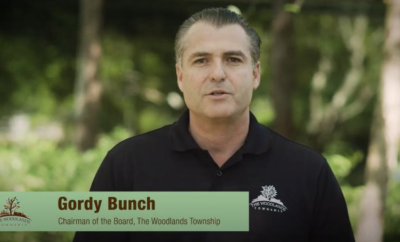 PHOTO: Township Chairman Gordy Bunch address park safety concerns in this Facebook video.