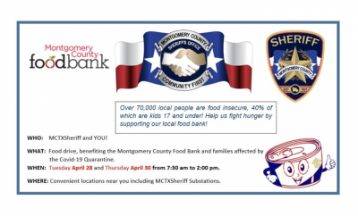 Montgomery County Sheriff Food Drive