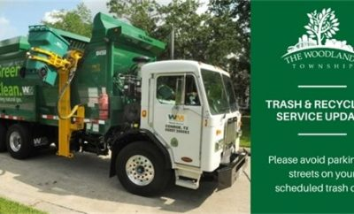 The Woodlands Township Trash Recycling Update