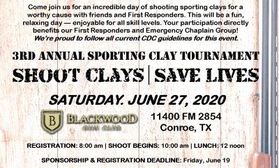 Emergency chaplain group clays 2020
