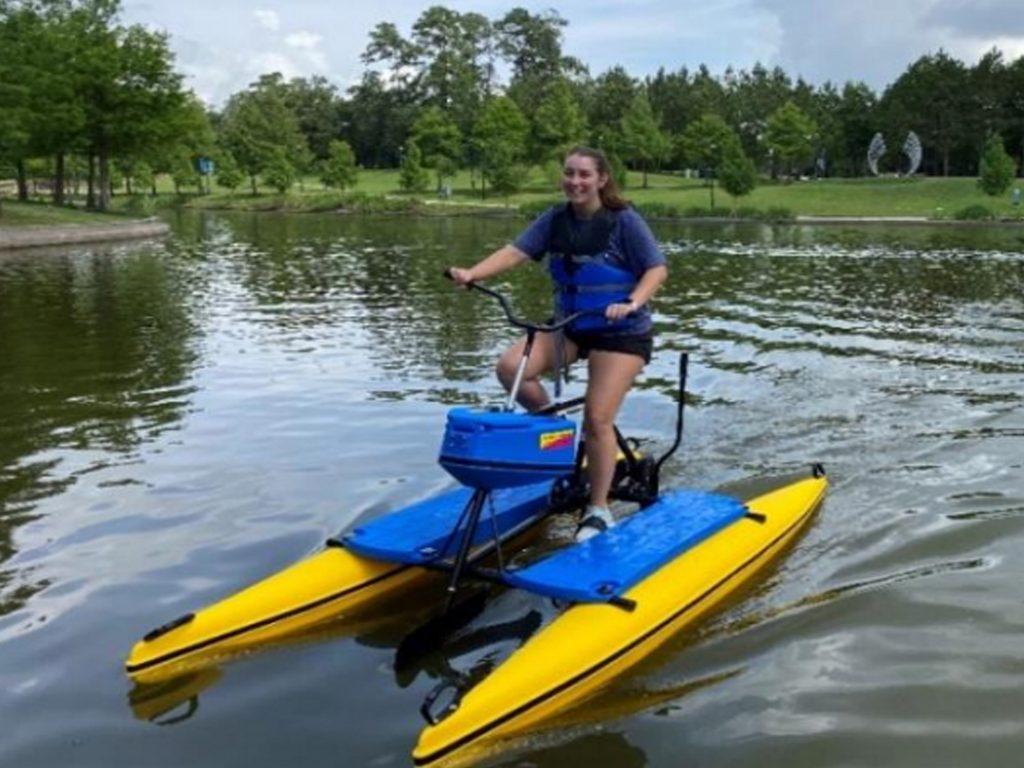 riva row water bike