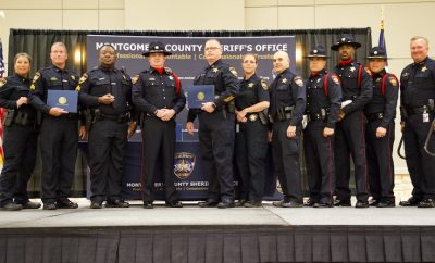 Montgomery County Sheriff's Office Promotion and Awards Ceremony