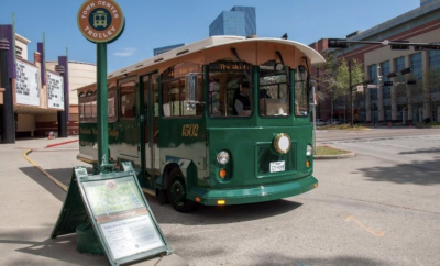 The Woodlands Town Center Trolleys
