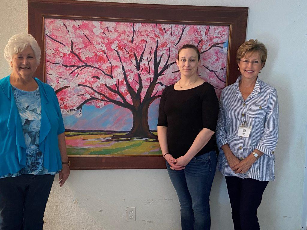 conroe art league art donation 2020 nonprofit Treehouse Banner