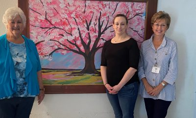 conroe art league art donation 2020 nonprofit Treehouse Banner