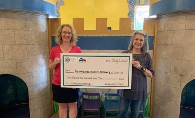 woodlands children's museum grant 2020